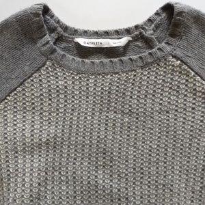 Athleta Wool/Cashmere Sierra Sweater Size S